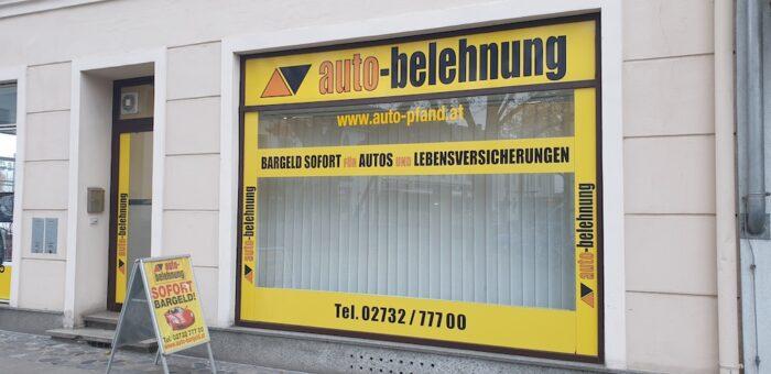 Auto Pfandleihe in Krems